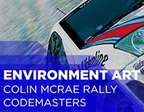 Colin McRae Rally Series, Environment Art (2002 - 2005)