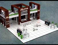 Astas Aluminium Fair Stand Design