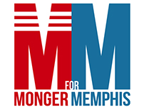 Monger for Memphis Logo & Pushcard Design