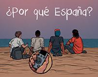 Cómic corto - ¿Por qué España?