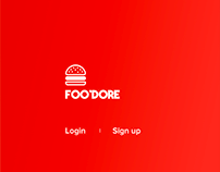 Foo'dore - order food and share the bills online!