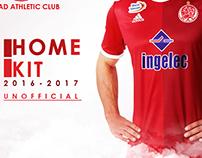 Home Kit Wydad Athletcic Club 2016-2017