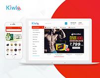 Kiwla: Branding & UI/UX