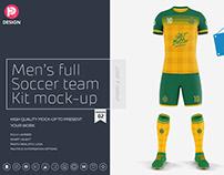 Men's Full Soccer Team Kit Mockup V2