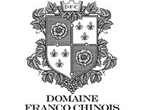 Domaine Franco Chinese Crest rendered by Steven Noble