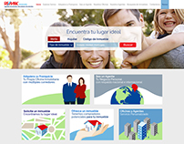 Web Design of Wireframe + Graphics for REMAX