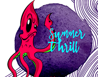 Summer Thrill Illustration