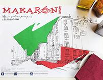 makaroni  restaurant artwork