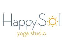 Happy Sol Yoga Branding and Website