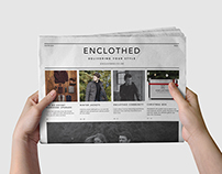 Enclothed Newspaper