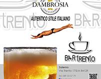 Locandine e Menù Bar Trento