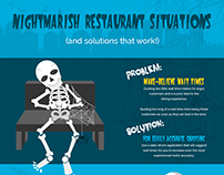 Nightmarish Restaurant Situations Infographic