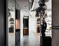 White Interior Design | Polka Dot