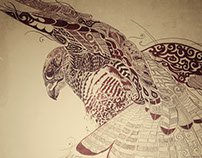 Ode to the Pelegrine Falcon