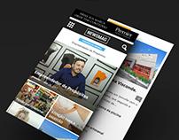 Revista Premier: Desenvolvimento de site