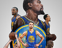 2016-2017 GOLDEN STATE WARRIORS Smartphone Lock Screen