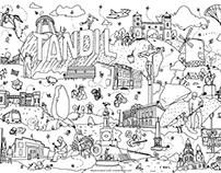 Ilustracion editorial A1 - Peques viajeros