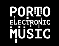 Porto electronic music poster+map