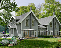 3d Architecture Exterior