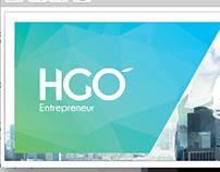 Héctor Gómez - Logo y tarjetas