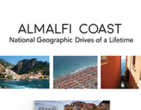Almalfi Coast: Drives of a Lifetime Magazine Design