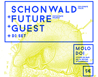 Schonwald Gig poster