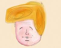 Donald Doodle - Sketch