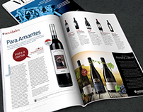 Wines Magazine Advertisement