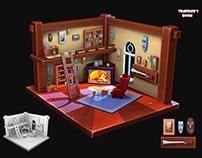 Traveler's room