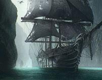 Monkey Pirate Ship