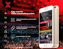 Web development and app TEDx Ciudaddepuebla