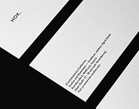 Hok, Studios (Con)temporary Collective — Branding