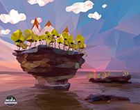 Low-Poly Lanscape