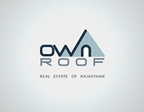 Own a roof logo
