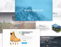 Gatsby — Creative Multipurpose PSD Template