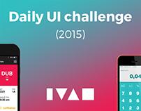 Daily UI (2015)