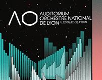 Lyon's Auditorium 2016/17 - Poster