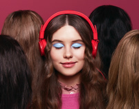 Headphones for Eurostar Metropolitan Magazine