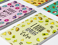 Indigo: Fast Food Stationery Line