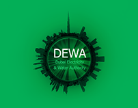DEWA ( Dubai Electricity & Water Authority )