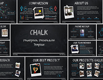 CHALK - POWERPOINT PRESENTATION TEMPLATE PPTX
