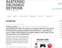Bartering Exchange Network - Allen Chi