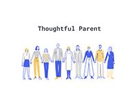 UI/UX Thoughtful parent