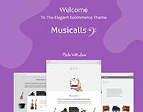Musicalls -  Ecommerce Site