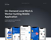 On-Demand Local Work & Worker Service App