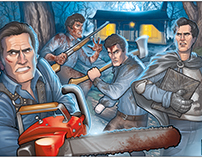 The evolution of ASH WILLIAMS