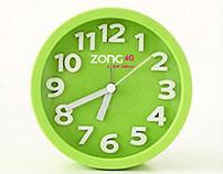 Clock Design   ZONG 4G A NEW DREAM