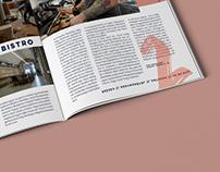 Magazine design //egy nap a városban