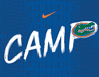 Florida Football Camp Brochure