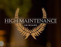 High Maintenance Skincare // Photo + Web